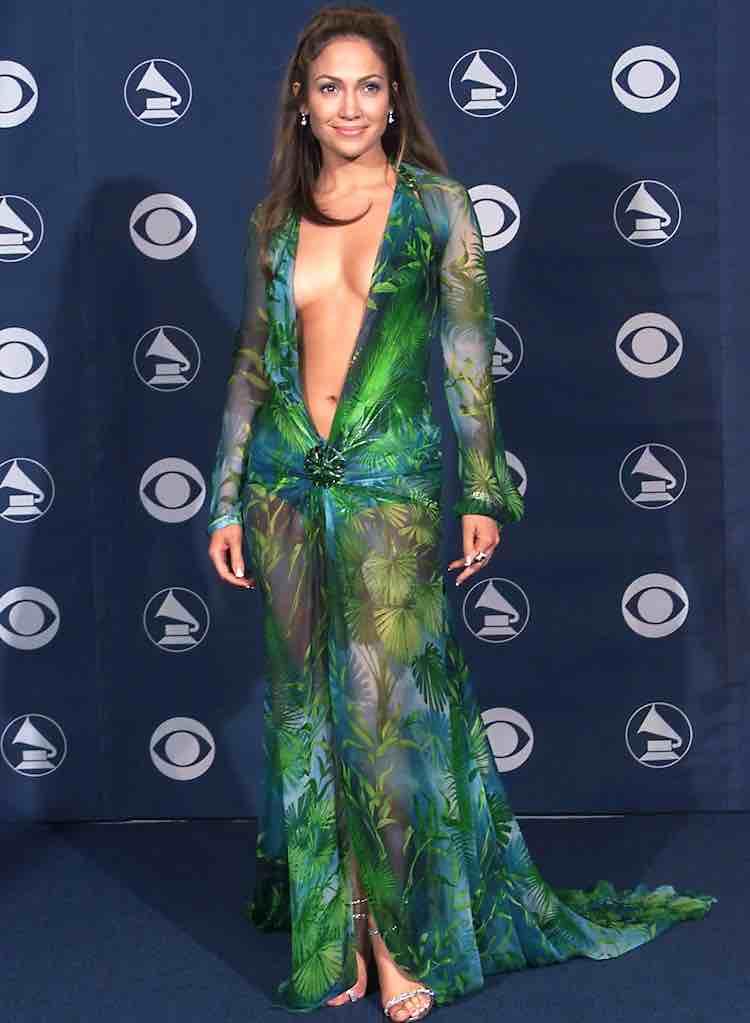 Jungle Dress Jennifer Lopez