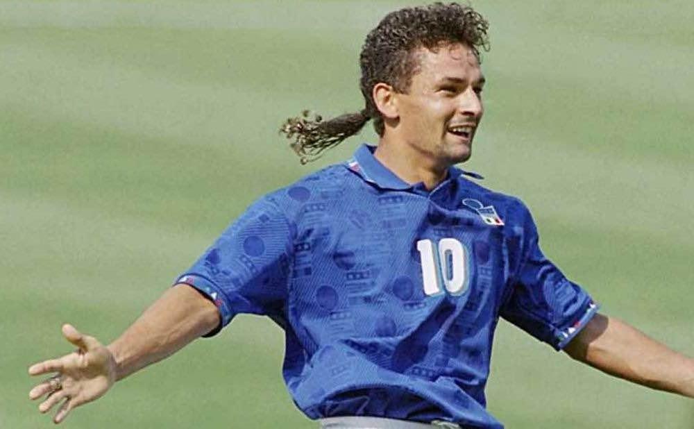 Roberto Baggio non regge emozione