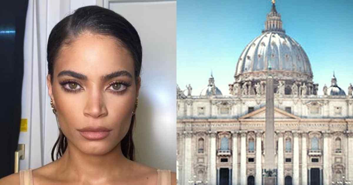 Elodie furiosa contro il vaticano