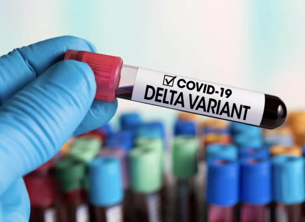 La variante Delta contagia anche chi ha fatto due dosi vaccino
