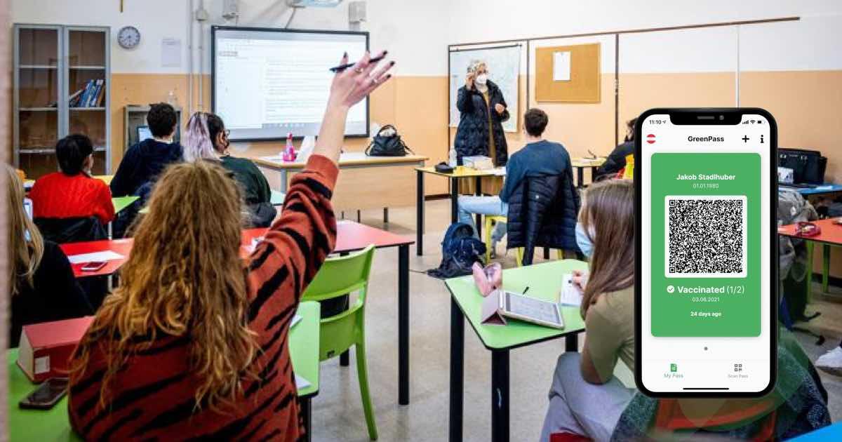 Green pass a scuola presidi favorevoli-